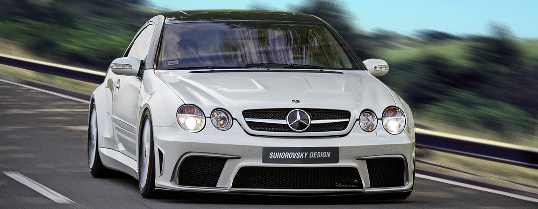 Mercedes benz cl c215 w215 wide body kit ats suits for Mercedes benz cl55 amg price