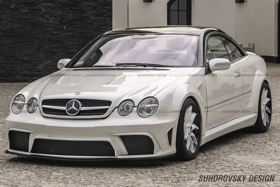 Mercedes benz cl 215 c215 w215 ats wide body kit ebay for Ebay mercedes benz