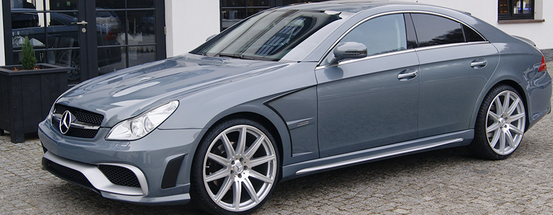 Mercedes benz cls 219 w219 black style body kit for Mercedes benz body styles