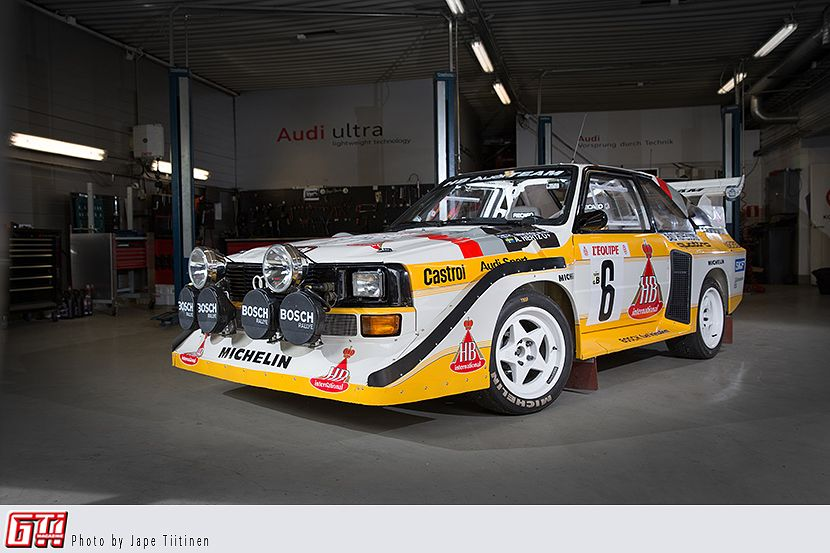 Audi S2 group B - photo by Jape Tiitinen