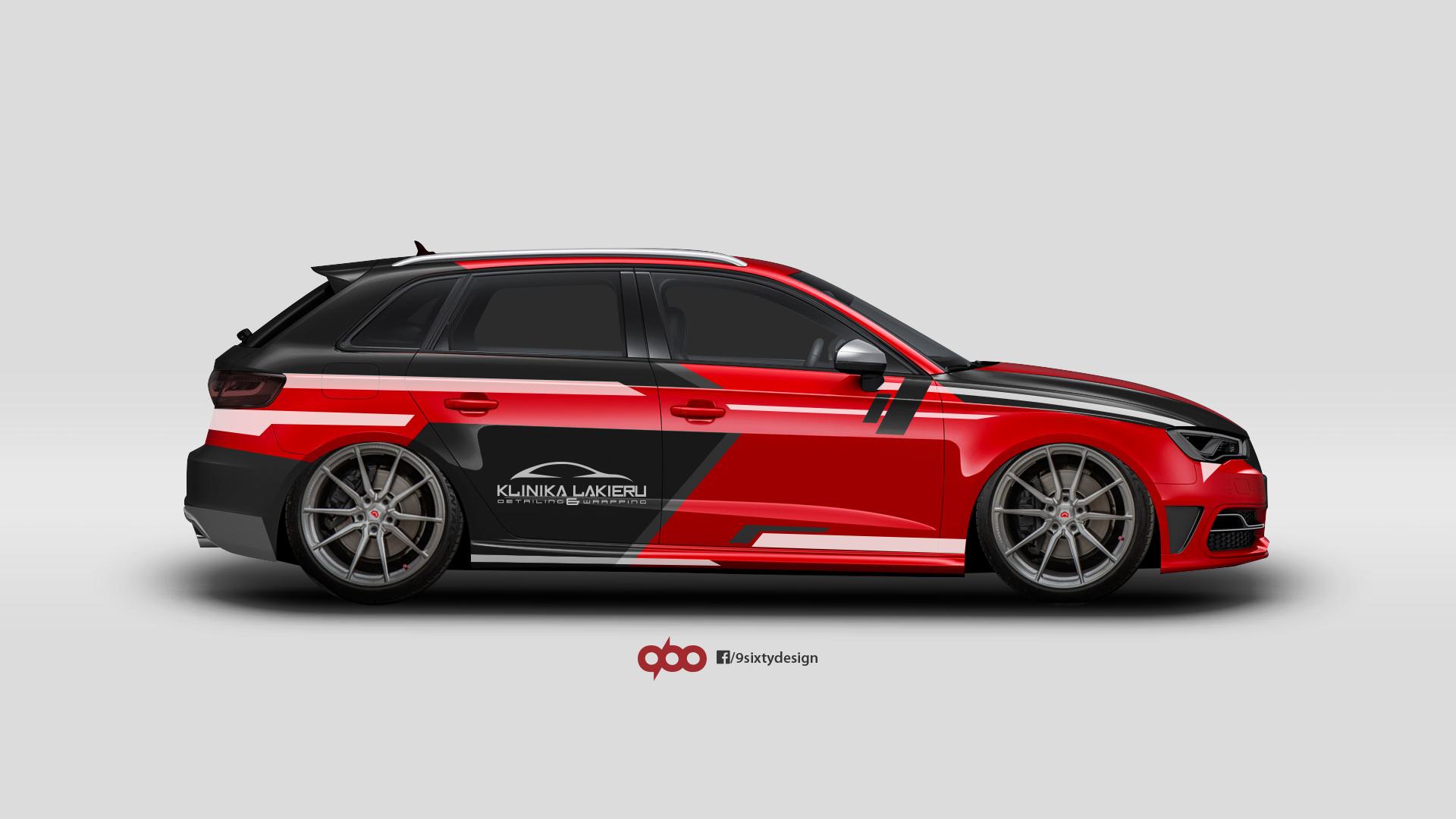 Audi A3/S3 8V foil wrap / projekt oklejenia